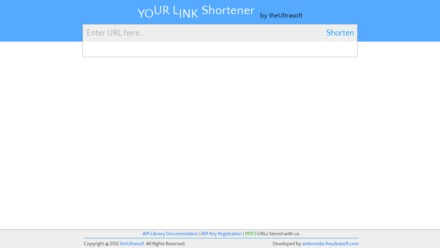 Ultrasoft URL shortener
